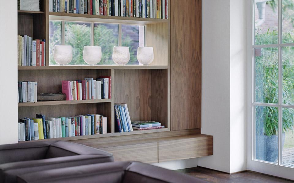 Projekt K Wohnzimmer-Regal