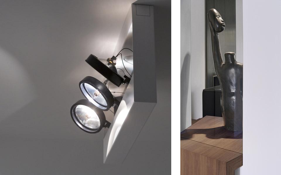 Projekt K Beleuchtung, Figur/Skulptur
