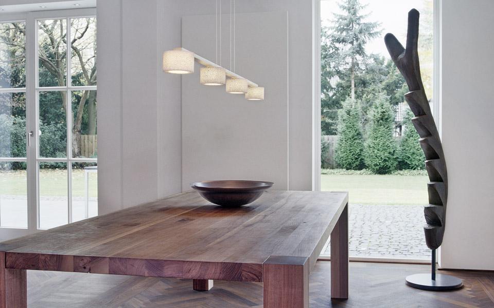 Projekt K Holztisch, Skulptur